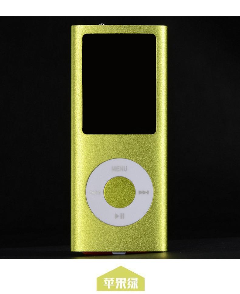 SMILYOU Hot Selling MP3 MP4 Music Player 1.8 დიუმიანი - პორტატული აუდიო და ვიდეო - ფოტო 6