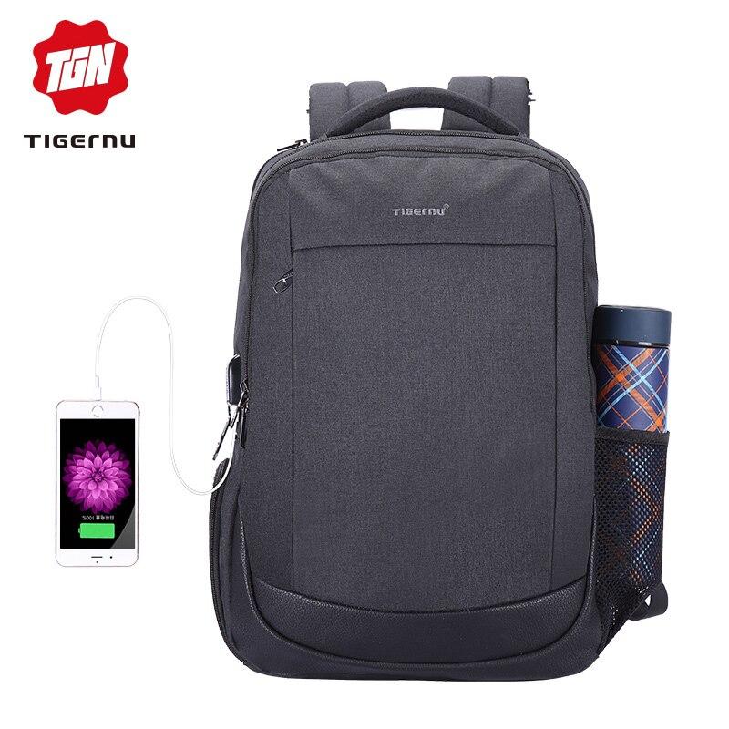 Tigernu USB De Charge Anti Vol Sac À Dos 15.6
