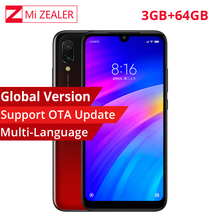 "In Stock Global Version Xiaomi Redmi 7 Mobile Phone 3GB+64GB Snapdragon 632 Octa Core 4000mAh 6.26"" 19:9 Full Screen Smartphone"