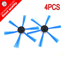 4pcs Sweeping robot for philips FC8603 FC8700 FC8710 FC8810 FC8820 FC8066 The side brush round brush. Cleaning brush Accessories