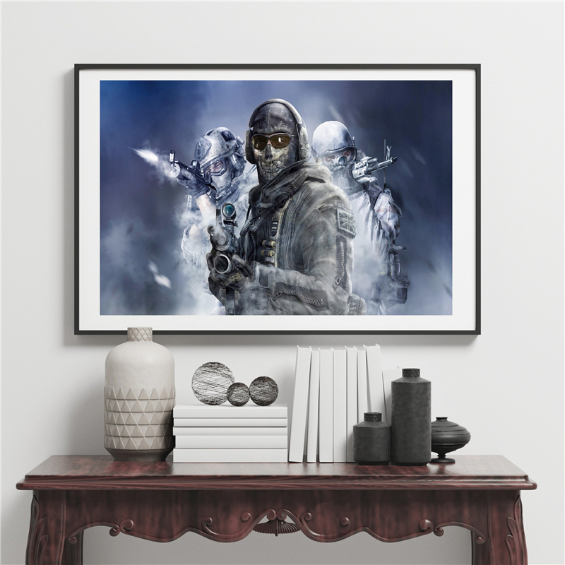 Game Call Duty Modern Warfare Wall Art Canvas Posters