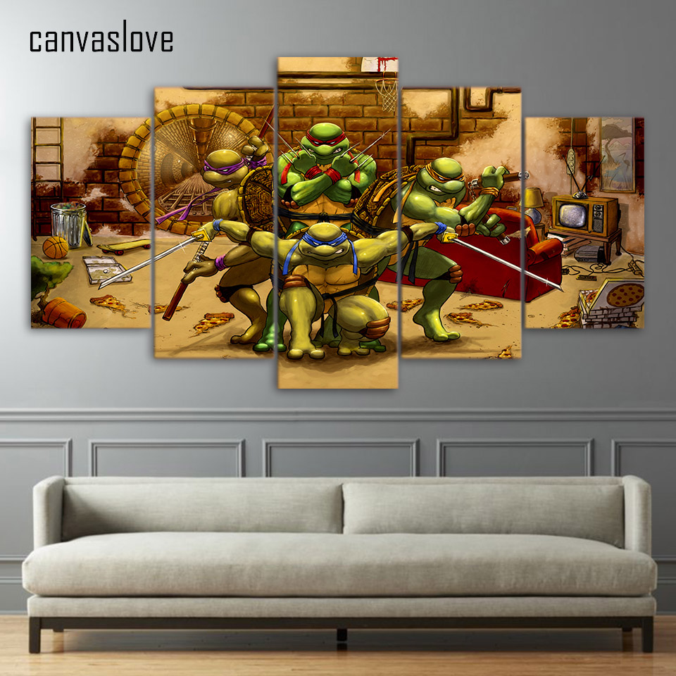 Ninja Turtle Bedroom Online Get Cheap Teenage Mutant Ninja Turtles Bedroom Aliexpress