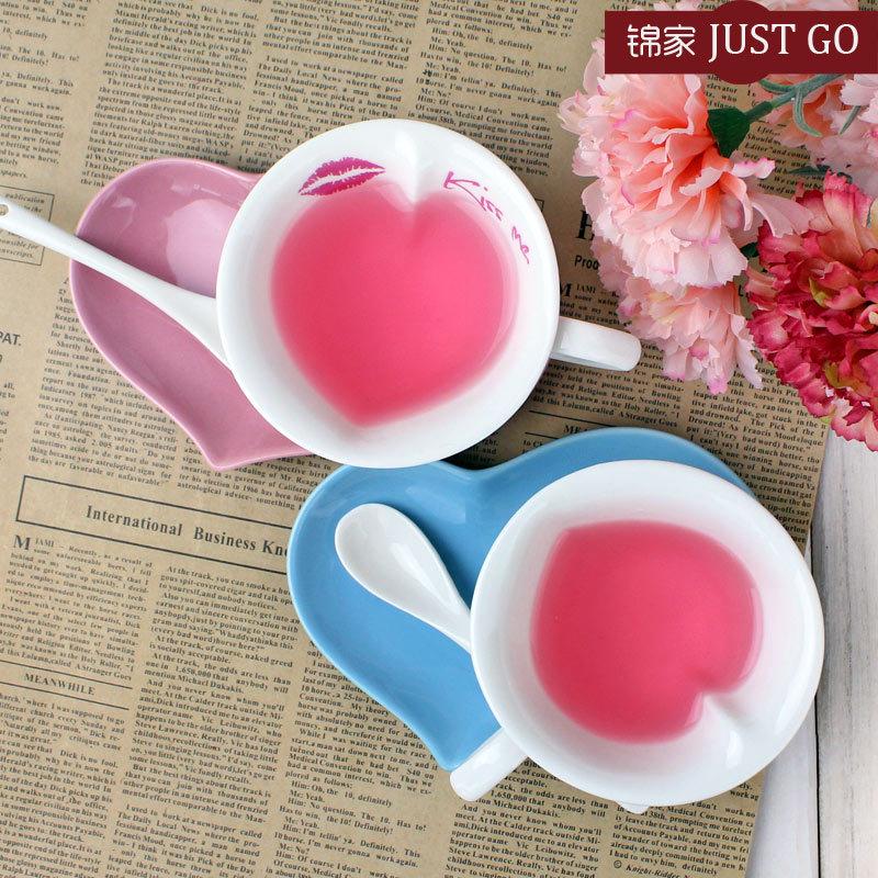Heart Shaped Personalised Valentine 39 S Coffee Mug Valentine