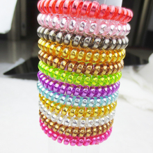 цены Free shipping new 2015 women headdress head flower hair accessories hair ring hair rope candy-colored telephone wire