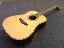 Free Shipping Dought 45S standard electric acoustic guitar with fishman EQ  solid spruce top