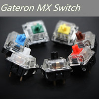 Gateron Mx Switch 3 Pin Adn 5 Pin Transparent Case Mx Green Brown Blue Switches For