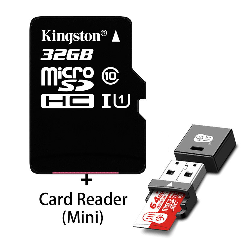 100 Original Kingston Micro Sd Card 16gb 32gb 64gb Microsd Memory Card Class10 Tf Card Microsdhc Uhs 1 For Smartphone