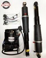 Из 2 предметов пневматической подвеской ударов + воздушный компрессор насос для Escalade Suburban Tahoe Yukon 1575626 + 19299545