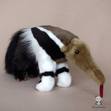 Large Anteater Doll  Plush Animals  Toys Real Life Big Stuffed Toy Rare Gifts