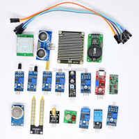 Freies verschiffen! die Kit, 16 Arten von Sensor Für Raspberry pi 2 Modell B, (enthalten HC-SR04 usw.)