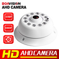 HD 720 P 1080 P AHD Câmera de Segurança Cúpula Fisheye, Visão noturna 10 m IR, 360 Graus de Ângulo de Visão 1.0MP AHD CCTV Câmera de 2MP Para AHD DVR