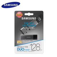 Samsung USB C 64gb Pendrive Disk on key Memory Stick Metal USB Flash Drive DUO USB Type C 200MB/S OTG 64GB for Laptop Notebook
