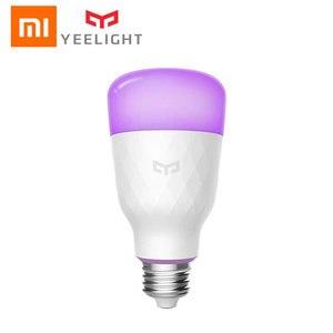 Image 2 - Xiao mi Yeelight RGB الذكية LED لمبة 10 واط E27 الملونة 800 لومينز الليمون الذكية مصباح ل mi المنزل App التحكم عن بعد الأبيض/RGB الخيار
