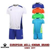 KELME Official Authentic Spain Hombre Soccer Uniforms Sets Team Short Football Training Suits Customize Soccer Uniforms Kit 08