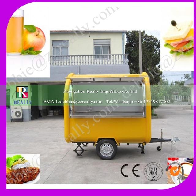 Personnalisable de haute qualit mobile rapide panier for Remorque cuisine mobile