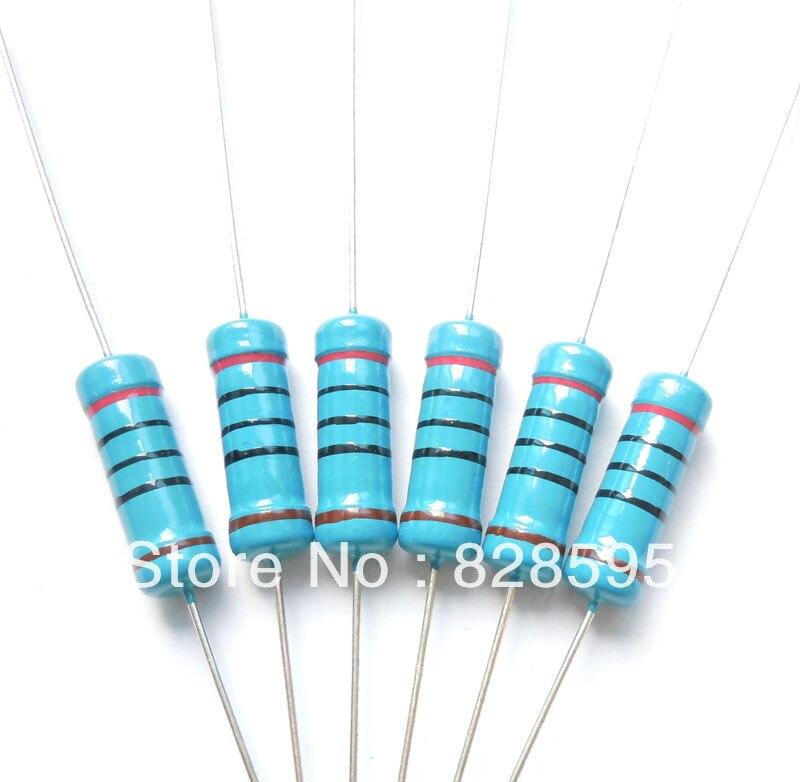 1% / Diligent Qls6410327gx 3w 200 Ohm 200r Ohm 100% Original Brand New Fixed Resistor Metal Film Resistors Resistance 200pcs