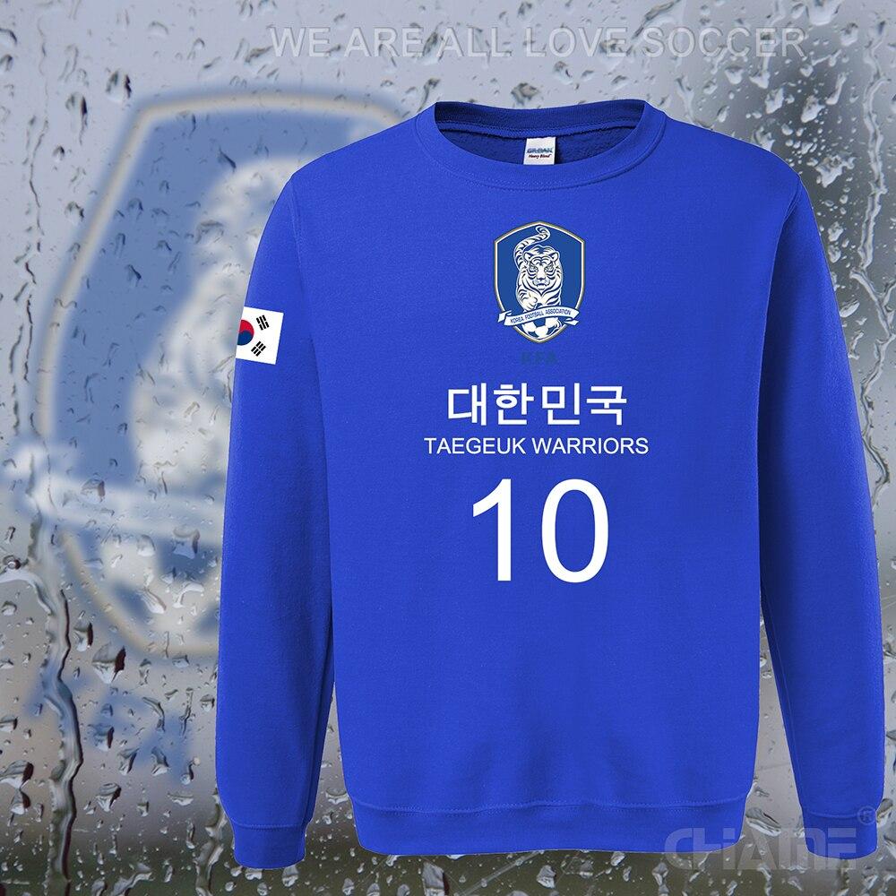 South Korea nation team hoodies men sweatshirt sweat suit streetwear font b socceres b font font