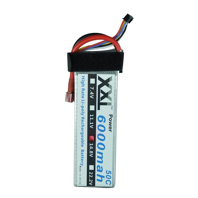 XXL Oversea Warehouse Big Sale RC lipo battery 4S 6000mah 50C/ 6S 3600mah 35C/ 6S 5000mah 50C/ 6S 6000mah 50C