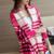 Invierno de Punto murciélago suéter de la borla de la capa capa de las mujeres femeninas mujeres suéter a cuadros Suéter chal capa poncho pullovers capa femenina