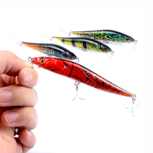 Fulljion 10cm 10g Fishing Lures Painting Series Minnow Quality Professional Baits Crankbaits Artificial Hard Lure Pesca