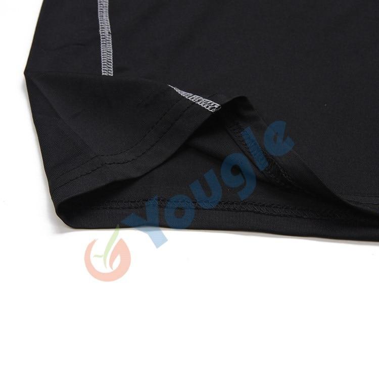 Мужские спортивные атлетические плотно облегающие Под базовым слоем Топ с длинным рукавом футболки топы коллекция