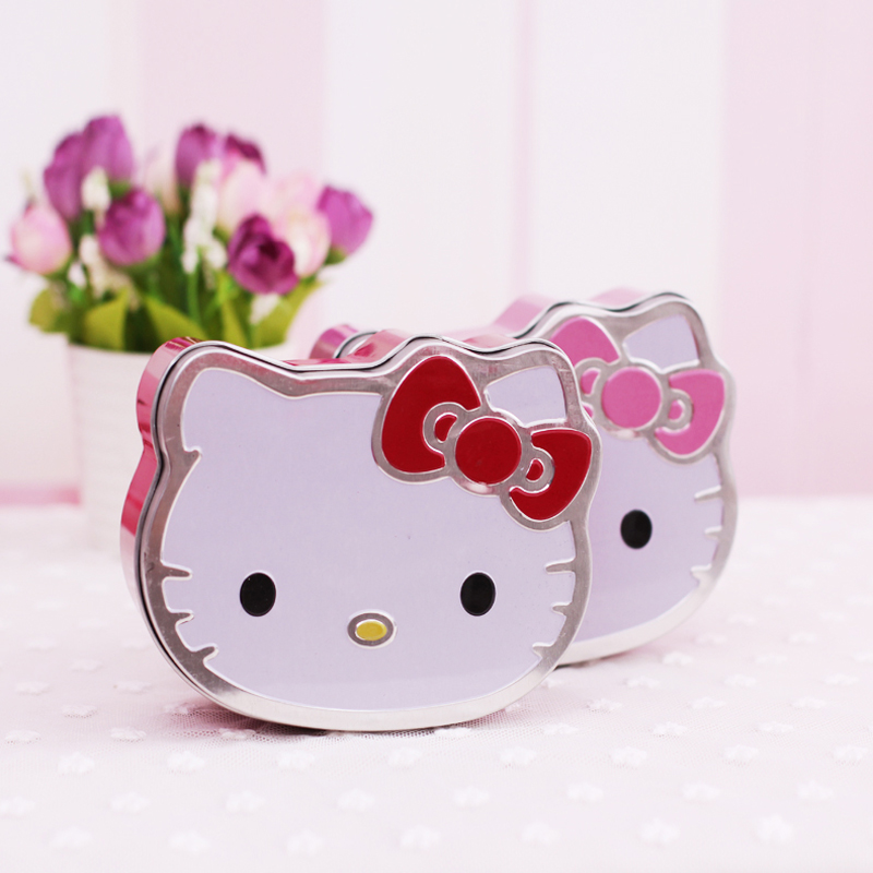 1x Cute Kawaii Hello Kitty Metal Small Tin Plate