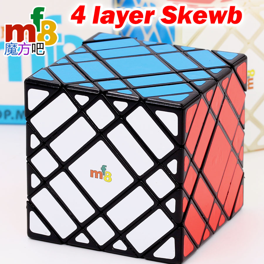 Magic Cube Puzzle Mf8 True 4 Layer Skew 7x7 Strange Shape Special High Level Twist Wisdom Educational Game Toy Gift Z Mf83033 To Win A High Admiration Toys & Hobbies