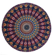 2019 Round Wall Hanging Tapestry Beach Towel Mandala Tapestry Bohemia Tapestry Wall Hanging Carpet Beach Throw Rug Mat Blanket