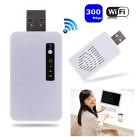 300M Wireless Mini USB WiFi Repeater 2 4 GHz WLAN Network Router Signal Range Extender