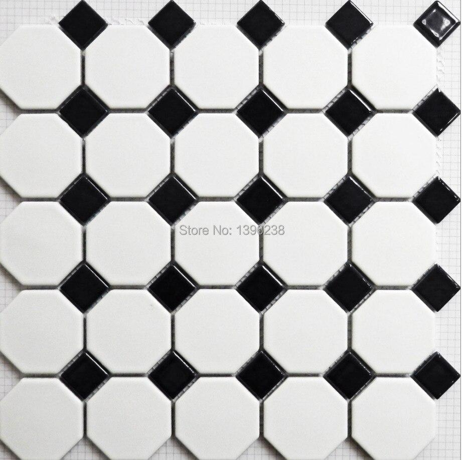 Black <font><b>White</b></font> Polished porcelain <font><b>mosaic</b></font> <font><b>tiles</b></font> bathroom wall/floor,Kitchen backsplash <font><b>tiles</b></font>,Toliet ceramic <font><b>tile</b></font> home decor,LSTCBJ01