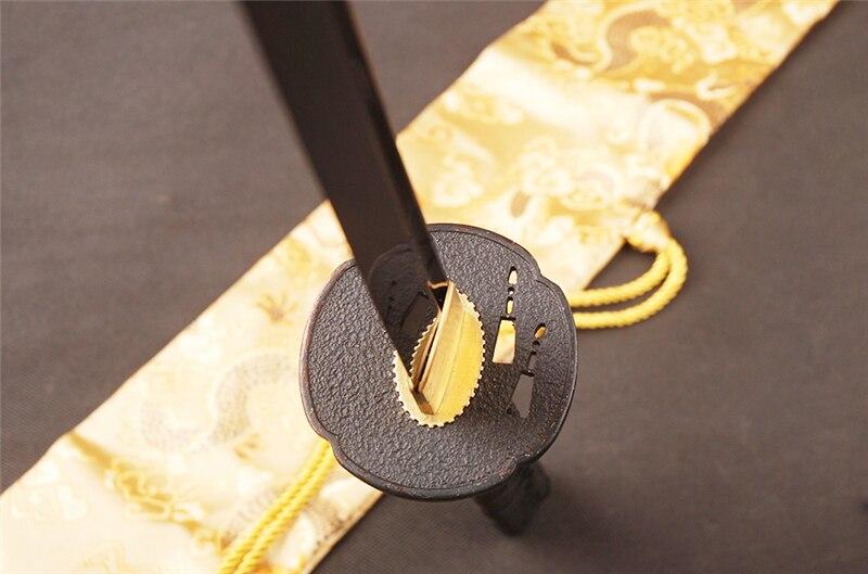 SHI JIAN Damaskus Stahl Japanisches Samurai Katana Schwert Sharp - Wohnkultur - Foto 5