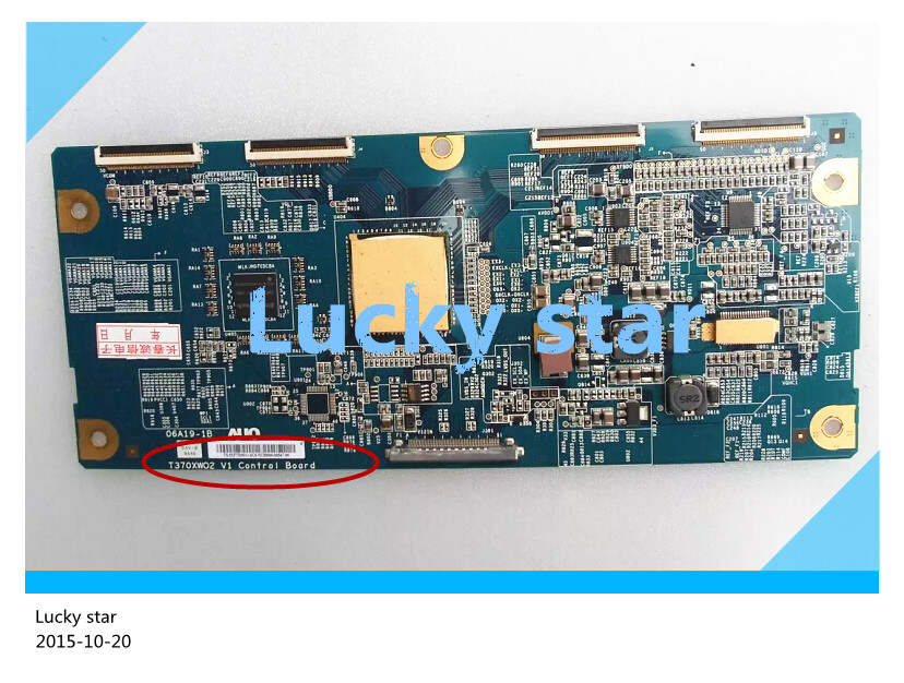 good working High-quality for original 98% new for board 37WL68C T370XW02 V1 06A19-1B T-con logic board 2pcs/lot good working high quality for original power board vp2431 vt2430 g t24b u 1 jc240xx61ua 2202141601p board 98