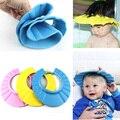 Bebé ajustable Sombrero Toddler Kids Tapas de Champú Baño de Baño Gorro de Ducha champú Cabello Shield Boy Girl Sombreros Para el Sol Para Los Niños el Cuidado Del Bebé