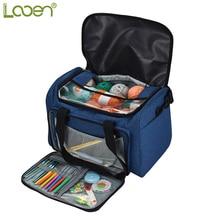 Пустая сумка для хранения пряжи, новый дизайн, органайзер для пряжи, все аксессуары для вязания крючком, сумка для хранения пряжи, швейные принадлежности