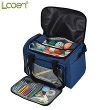 Neue Design Leere Speicher Garn Tasche Garn Organizer Für Alle Häkeln Stricken Häkeln Tasche Für Speicher Garn Nähen Liefert