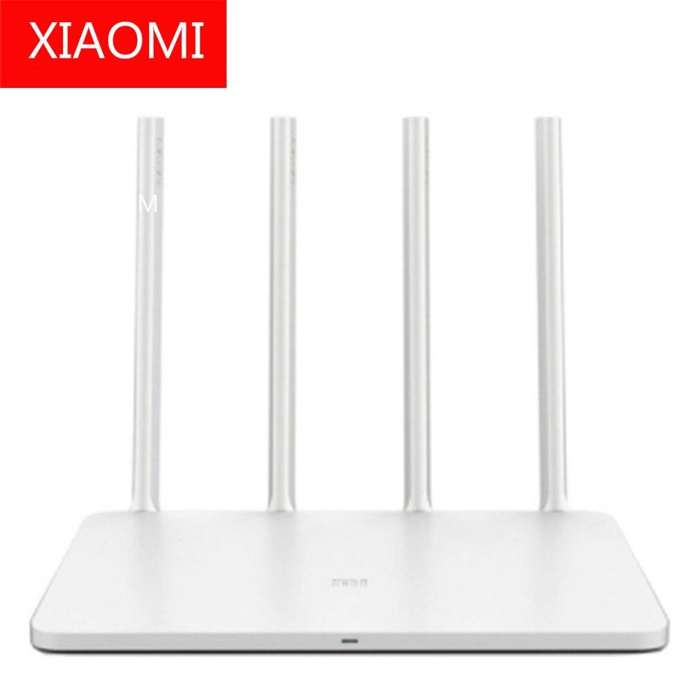 Authentique xiaomi mi Router3 xiaomi mi wi-fi 3 2.4G/5 GHz double bande APP contrôle WiFi routeurs sans fil