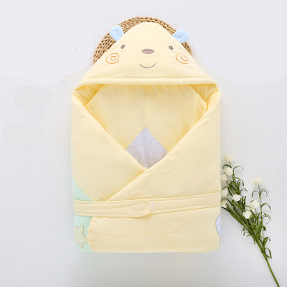 Newborn Baby Kids Swaddle Warm Soft Sleeping Blanket Cartoon Wrap Bath Towel Swaddle Blanket Towel Bedding Blankets Swaddle aibeile 2017 new 3 colors bear elephant flannel baby blanket newborn soft cartoon blankets 100 100cm for beds thick warm kids