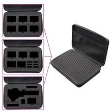 Карданный корпус DIY хранение дорожных сумок коробка водонепроницаемый чехол для Gopro Hero 7 6 5 4 3+ Серия Xiaomi Yi 4 K SJCAM Sj4000 EKENH9 SONY
