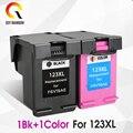 CMYK Supplies 123XL Заправляемый картридж Замена для hp 123 XL с чернилами hp Deskjet 1110 2130 2132 2133 2134 3630 3632 3638 3830