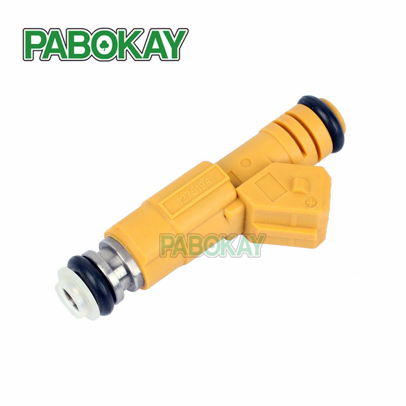 New Set of 19lb EV1 Style Flow Matched Fuel Injectors Replaces 0280155746 8