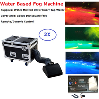 2XLot Factory Direct Sales 3000W Water Base Fog Machine Water Mist Low Fog Smoke Machine 110 220V Perfect For Wedding Party Show