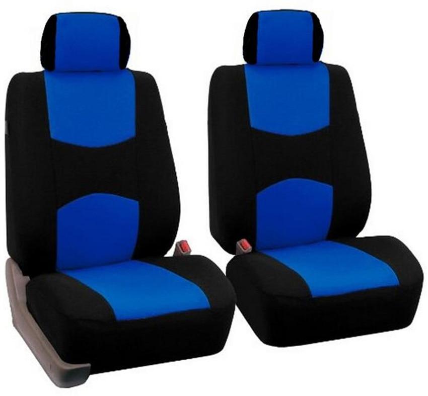 Car Seat Cover Classic design Universal Fit 1Pcs Set Front 1pcs headrest covers Retail Free Shipping in Automobiles Seat Covers from Automobiles Motorcycles