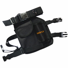 NEWST SHRXY Pinpointing Metal Detector Drop Leg Pouch Holster for Pin Pointers Xp Pointer ProFind Bag