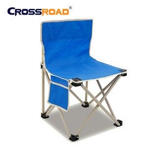 Image 4 - RU складное кресло, Высококачественная уличная мебель для кемпинга, барбекю, легкий складной стул, портативное металлическое кресло для рыбалки, пикника, пляжа