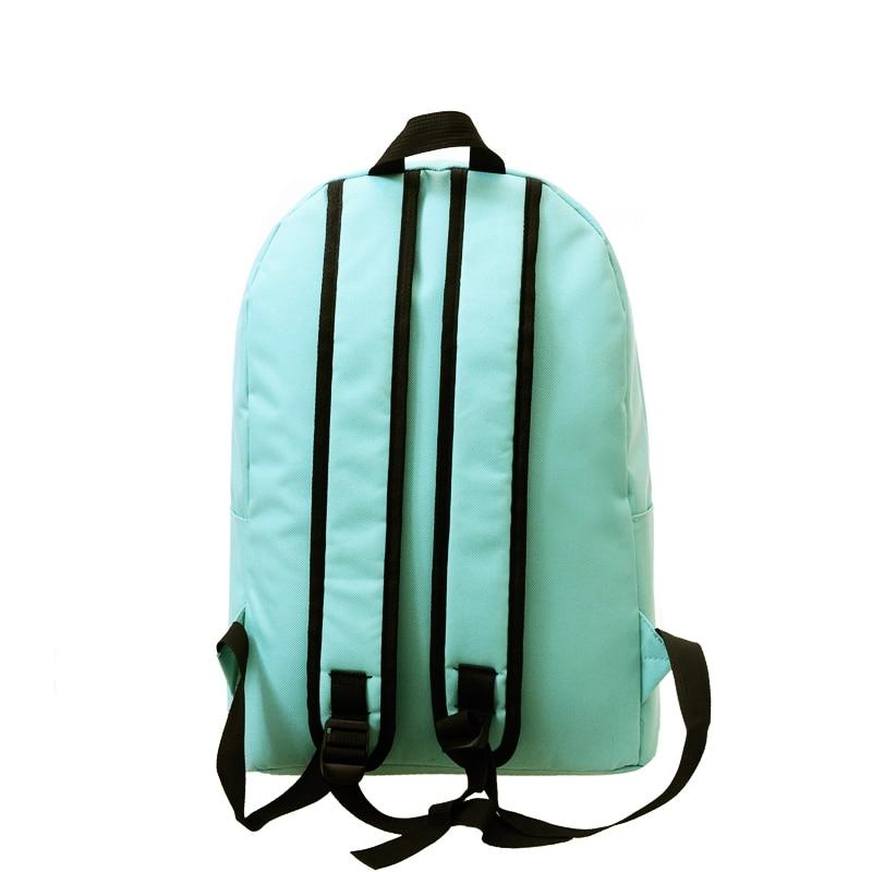 adolescente mochila escolar mulheres mochila Exterior : Saco Contínuo