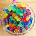 100PCS Transparent Color  on sale Crystal Mud Soil Water Beads Bio Gel Ball For Flower