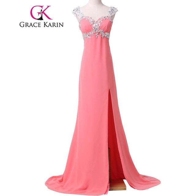Grace karin meerjungfrau abendkleid elegante licht korallen türkis ...