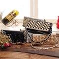 2017 Korean Style Rhinestone Ladies Day Clutch Evening Bag Brand Design Chain Women Handbag Wallet BB0764