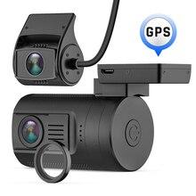 Cheap price MALUOKASA Dual Lens Car Camera Novatek 96663 Car DVR  Front Rear Full HD 1080P Auto Dash Cam WIFI WDR Video Recorder GPS Tracker