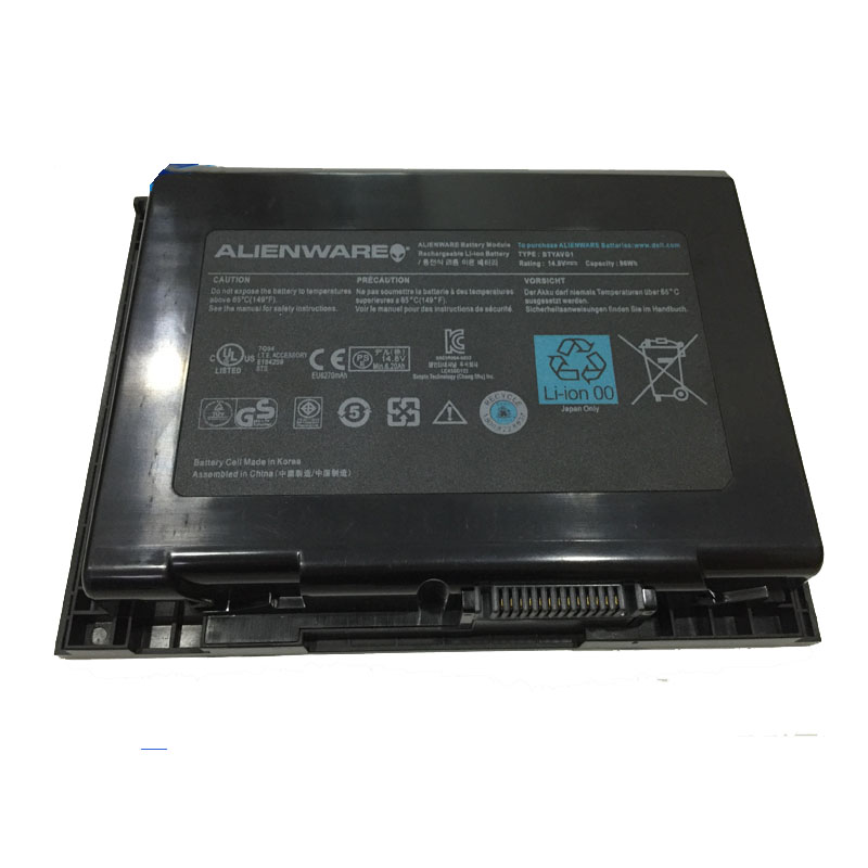 ФОТО Original 14.8V/96wh laptop Battery BTYAVG1 X7YGK  FOR Dell   Alienware M18x  R1 R2 Series